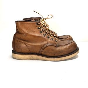 Red Wings CLASSIC MOC 6-INCH BOOT  LEGACY sz 8